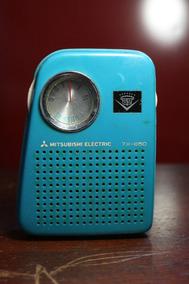 Radio Portátil Antigo Mitsubishi Eletric 7x 850