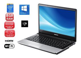 Notebook Samsung .i3 8gb 1000gb Hd Dvd Hdmi 14