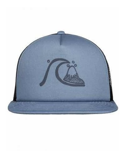 Gorra Quiksilver Trucker Hat Unitalla Blue