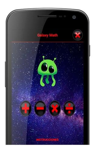 Galaxy Math. Juego Chicos Chicas Familiar Promoción
