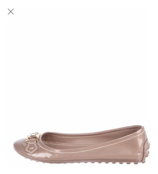 Flats Ballet Ballerinas Lv Louis Vuitton Originales 6.5usa