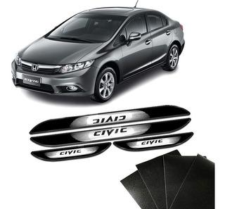 Kit Soleira Da Porta New Civic Com Black Over Resinado