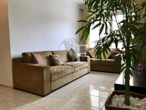 Apartamento Residencial À Venda, Jardim Três Marias, Guarujá - Ap9077. - Ap9077