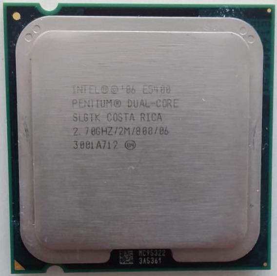 Processador Intel E5400 Pentium Dual-core 2.7 Ghz