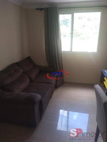 Imagem 1 de 12 de Apartamento Com 2 Dormitórios À Venda, 56 M² Por R$ 237.000,00 - Santa Terezinha - São Bernardo Do Campo/sp - Ap3409