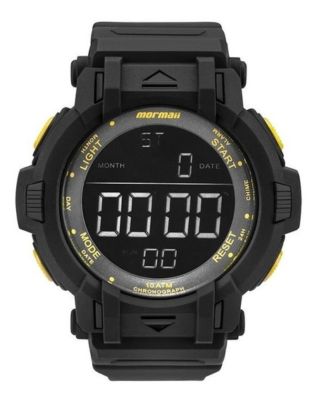 Relógio Mormaii Masculino Ref: Mom08111c/8y Big Case Digital