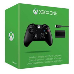Microsoft Controle Xbox One Play E Charge Original. Bateria