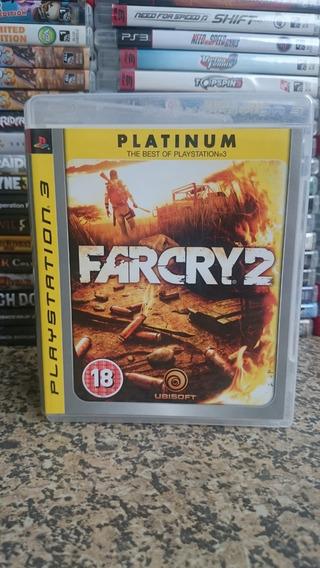 Far Cry 2 Platinum Edition Ps3 Midia Fisica-frete R$10