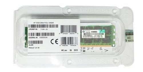 Hp 713985-b21 Memoria 16gb Pc3l-12800r Dl380g8 V2 Nfe