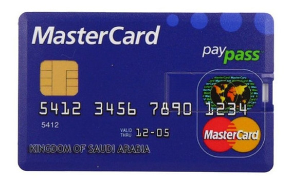 Multi Cor Compacto Cartão De Crédito Usb Flash Usb 2.0 Flash