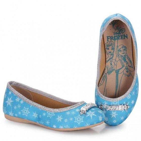 Sapatilha Infantil Menina Frozen Princesa Elsa Grendene