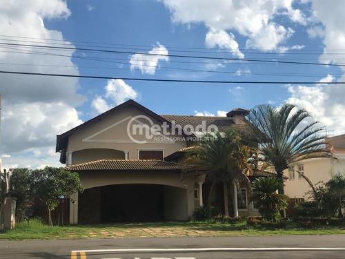 Casa A Venda No Alphaville Campinas Sp - Ca00682 - 68912642
