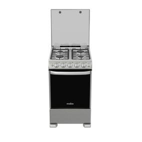 Cocina A Gas 4 Platos Inox Mabe-cme5545cazx0 Envío Gratis Rm