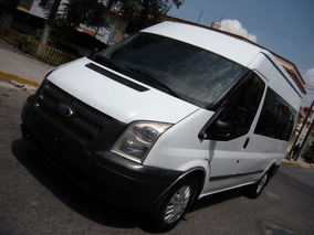 Ford Transit 2013 Pasajeros Todo Pagado Sin Detalles