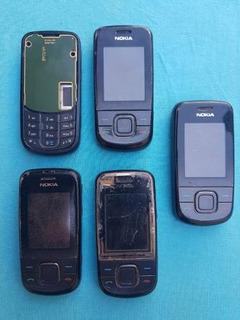 Lote Com 5 Celulares Nokia 3600 (leia A Descrição)