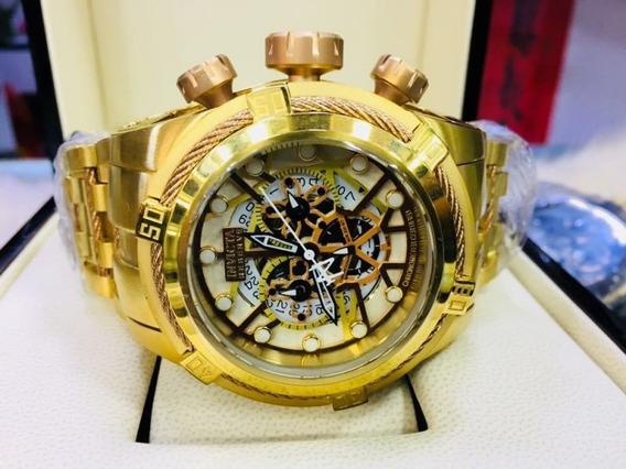 Relógio Invicta Zeus Bolt Skeleton 12763 Original
