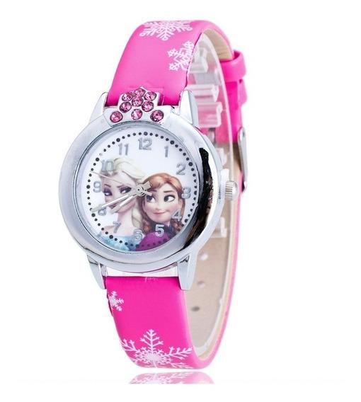 Relógio Frozen Rg011c Pulseira Pink Promoção!!!