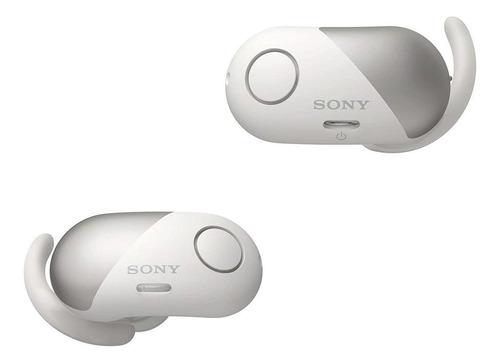 Imagen 1 de 4 de Audífonos inalámbricos Sony WF-SP700N blanco
