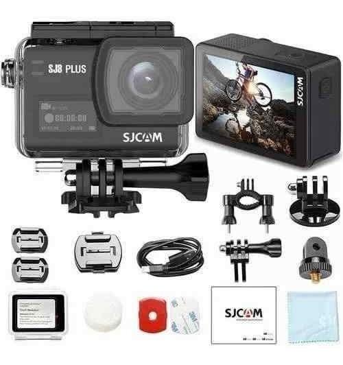 Câmera De Ação Sjcam Sj8 Plus Original 4k 30fps 12mp Wifi