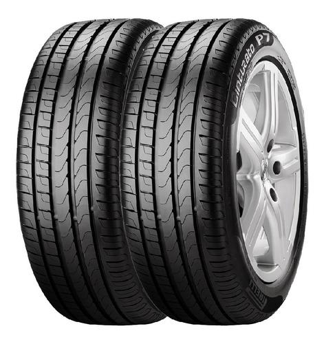 Imagen 1 de 2 de Combo X2 Neumaticos Pirelli 195/55r15 P7 Cint 85h Cuotas