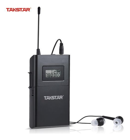 Takstar Wpm-200 Uhf Sistema De udio Sem Fio Receptor