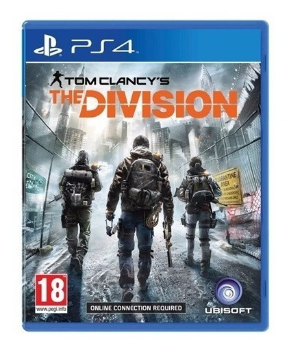 Tom Clancys The Division Ps4 Dublado Mídia Física