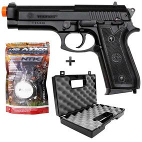 Pistola/airsoft Cybergun Taurus Pt92 + Maleta Rossi +2000bbs