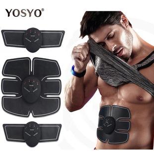 Cinturón Electro Estimulador Muscular Abdomen 8 Parches Ems