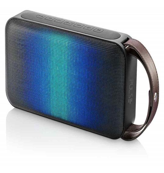 Pulse Caixa De Som Painel De Led Dinamico Bluetooth 50w Rms