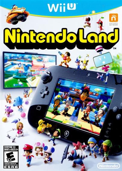Jogo Nintendo Land Wii U Original Mídia Física Frete Grátis