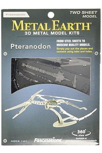 Fascinations Metal Earth Pteranodon Skeleton 3d Modelo De Me
