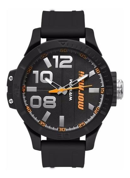 Relógio Mormaii Masculino Wave Mo2035ie/8l Laranja Analógico