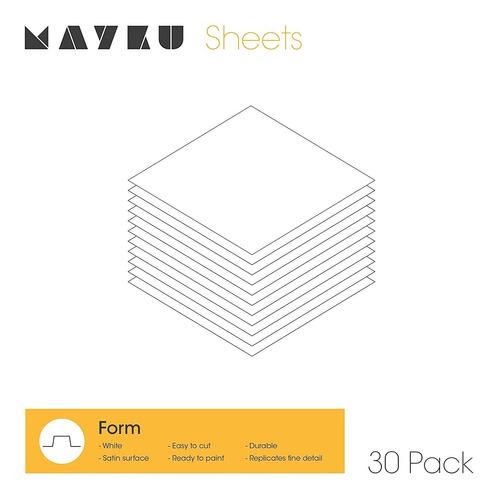 Caixa Com 30 Folhas Mayku Form Sheets
