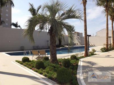 Apartamento Com 2 Dormitórios Para Alugar, 70 M² Por R$ 1.100/mês - Santa Cruz - Americana/sp - Ap3861