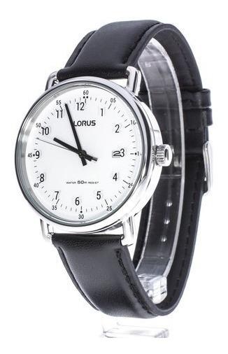 Reloj Lorus Para Caballero En Piel De Cuarzo