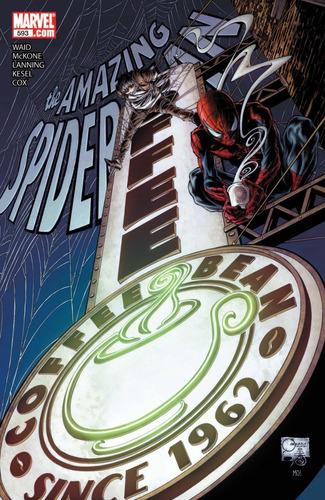Imagem 1 de 4 de Hq Importada Amazing Spiderman #593 - Marvel Comics