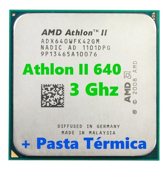 Processador Amd Athlon I I X4 640/3ghz Quad-core/ Socket Am3