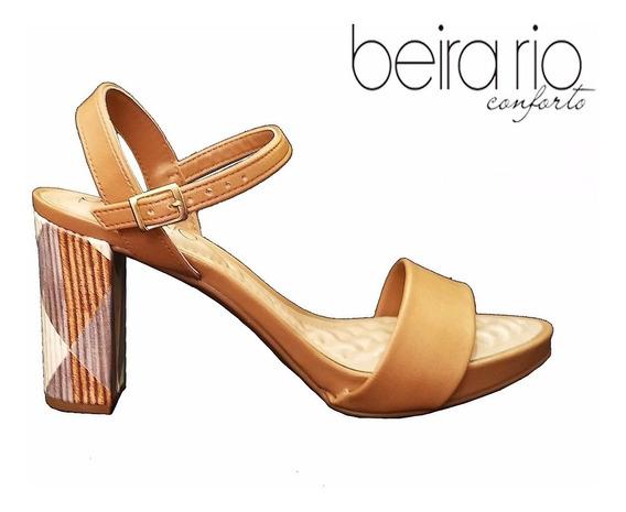 Sandalia Beira Rio Basica Camel - 8343.200