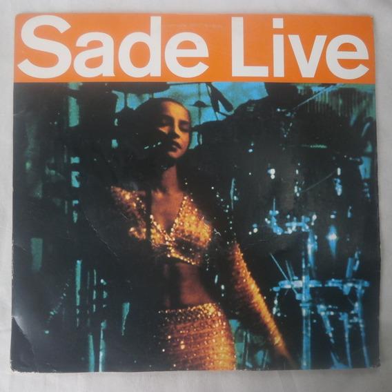 Ld Laser Disc Sade Live 1994, Importado Reino Unido