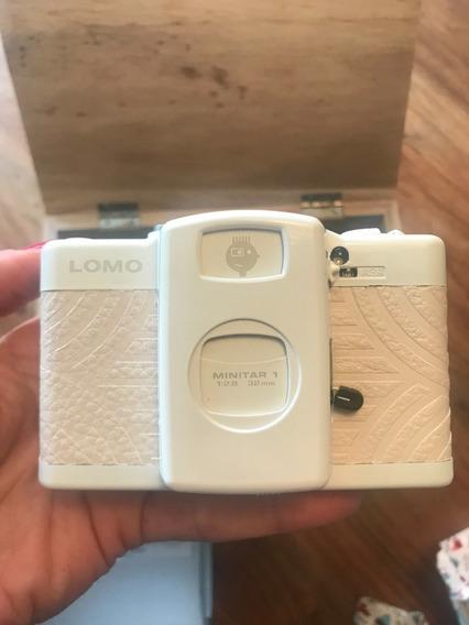 Camera Lomo Lca+ White Japan Edition Lomography Rara!!!