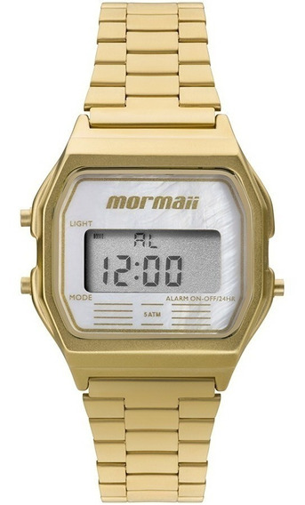 Relógio Mormaii Feminino Esportivo Mojh02as/4b Dourado