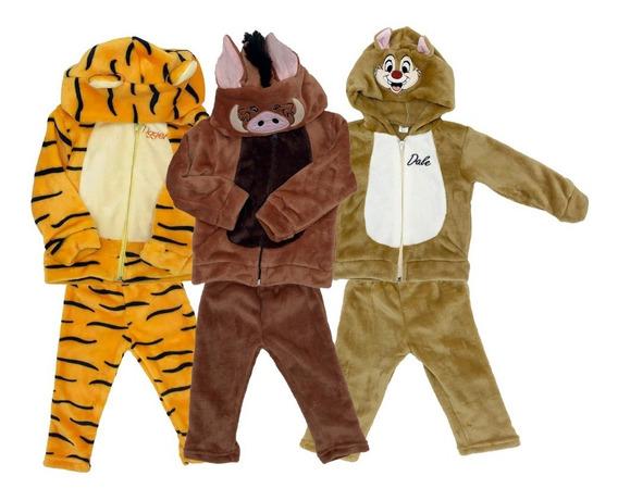 Kit 3 Conjuntos Disney Tigger, Pumba, Dale A Precio De 2