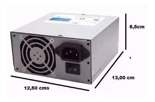 Mini Fonte Seasonic Atx Ss 300sfe Pfc - 80 Plus