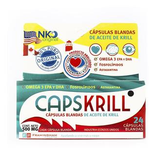 Capskrill Omega 3 Aceite De Krill X 24 Capsulas