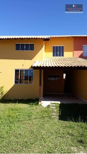 Casa Com 3 Dormitórios À Venda, 185 M² Por R$ 300.000,00 - Unamar - Cabo Frio/rj - Ca0203