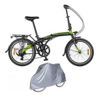 Bicicleta Aurora Folding Smart Bk Plegable + Funda Ultimo Modelo