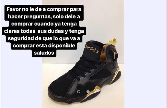 Zapato Jordan Retro 7 Black Gold