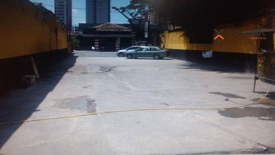 Terreno Para Alugar, 400 M² Por R$ 12.000/mês - Jardim - Santo André/sp - Te0026