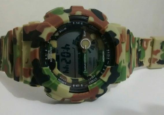 Relógio Militar Camaleão Camuflado Exército Russo Barato