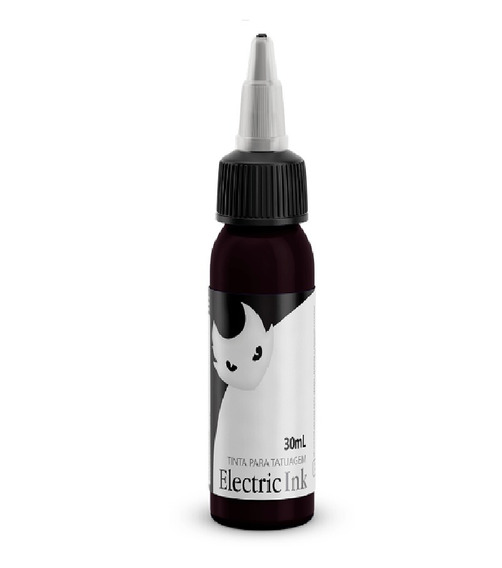 Tinta Electric Ink Violeta Tattoo Tatuagem 30ml + Brinde